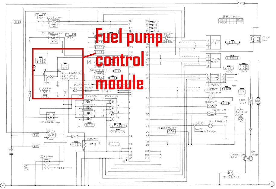 SRECUDiagram1 quick 12v fuel pump mod question w diagram zilvia forums volvo 240 fuel pump relay wiring diagram at readyjetset.co