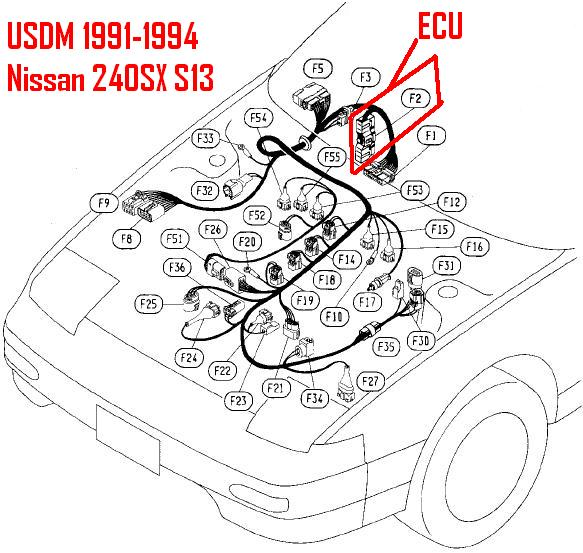 Ka24e To Ka24de Wiring Harness Solutions. Ka24e Wire Harness Center. Nissan. Nissan Ka24e Wiring At Scoala.co